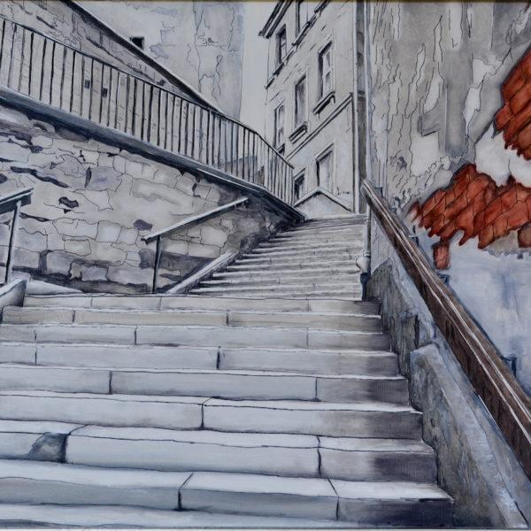 ulica schodkowa I