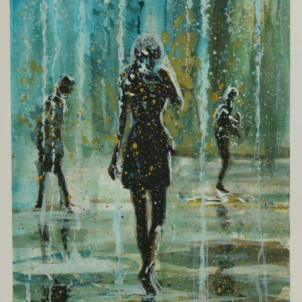 """""""Turkusowy deszcz"""""""