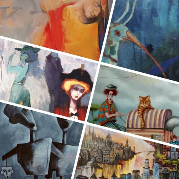 Surrealizm, Futuryzm, Fantazje