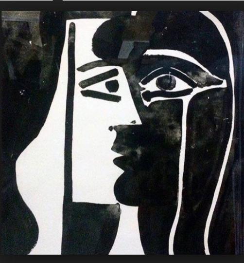 Reprodukcja Pablo Picasso Tete du Femme