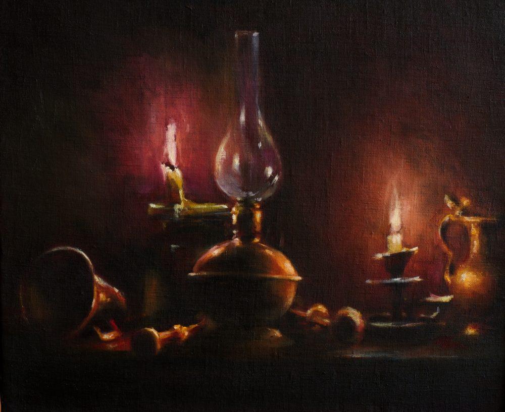 Obraz symboliczny, metaforyczny, nawiązujący do tematyki przemijania, jednak koncentruje się na świetle - czasie życia, istnienia.