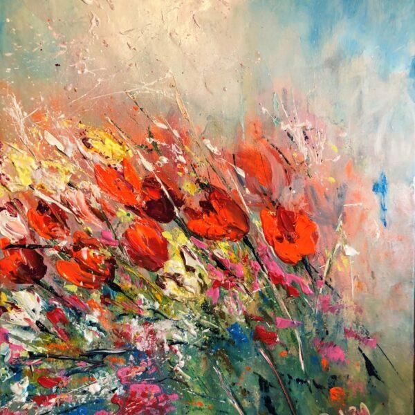 kwiaty na wietrze