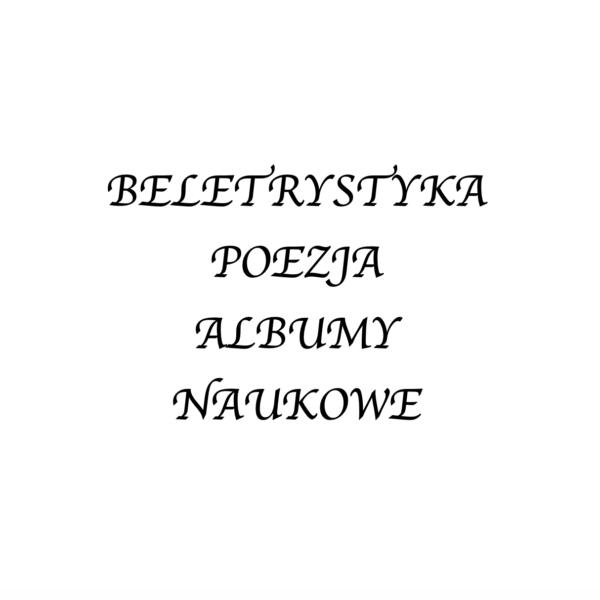 KSIĄŻKI, ALBUMY